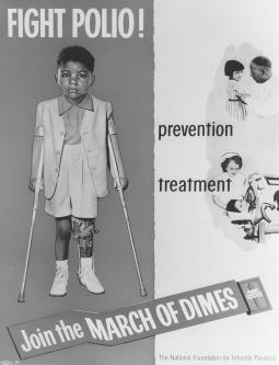 James Clark Allen, March of Dimes poster child; 1955