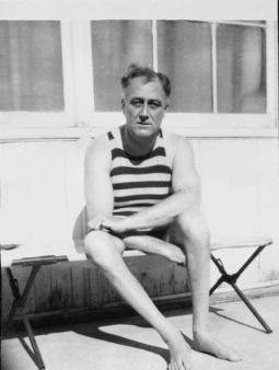 FDR at Warm Springs; Courtesy of Vanishing Georgia