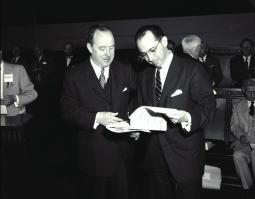 Thomas Francis and Jonas Salk